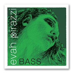 Pirastro Evah Pirazzi 3/4 String Bass D String - Medium Gauge - Chromesteel/Synthetic Fiber